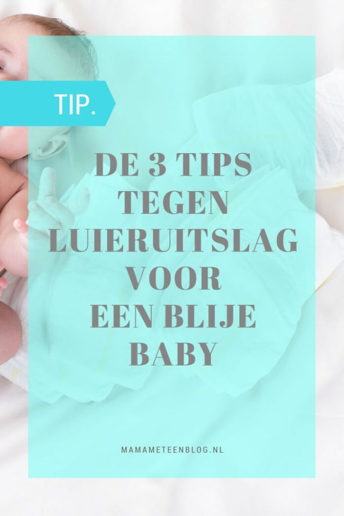 Tips luieruitslag mamameteenblog.nl