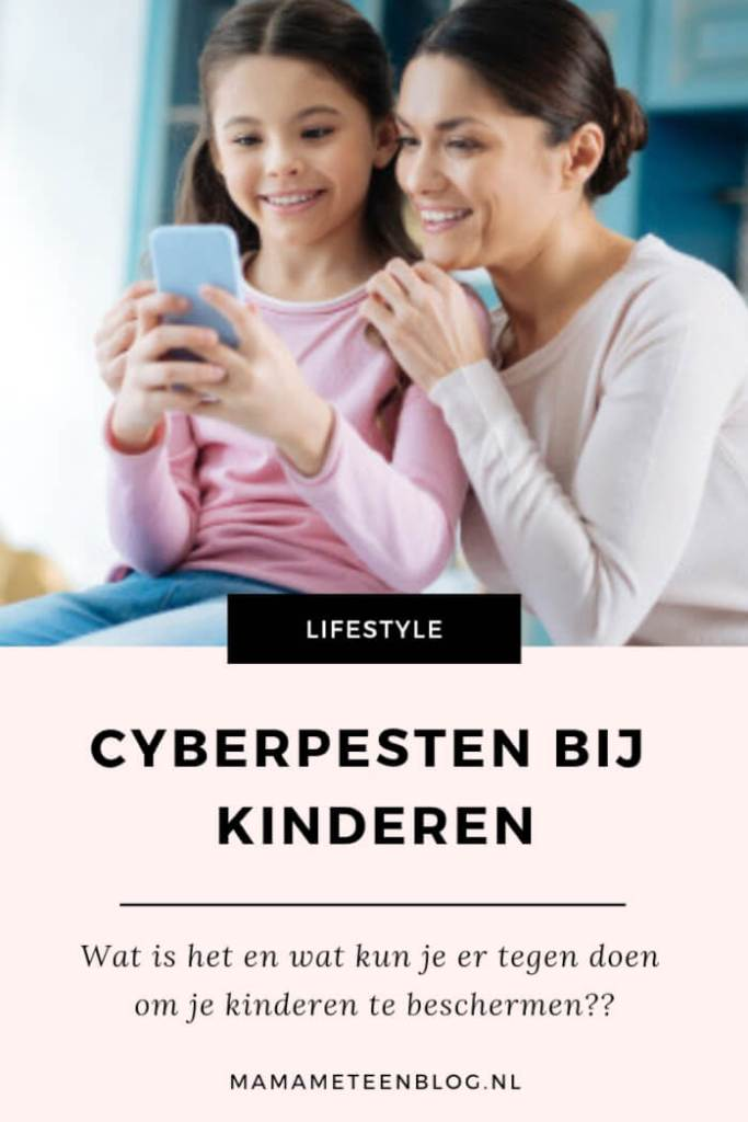 Cyberpesten bij kinderen, wat is het en wat kun je doen om je kinderen te beschermen? Lees hier de tips en trucs. mamameteenblog.nl #cyberpesten #pesten #opvoeden #smartphone