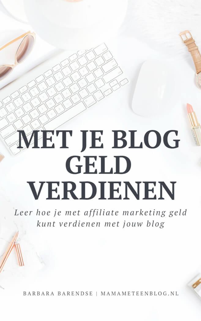 Thuis online geld verdienen met Bloggen