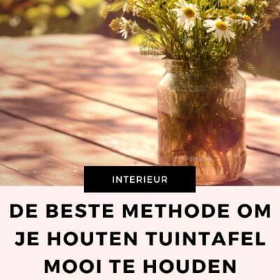 houten tuintafel onderhoud mamameteenblog.nl