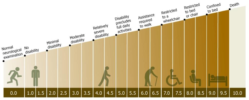 EDSS scale