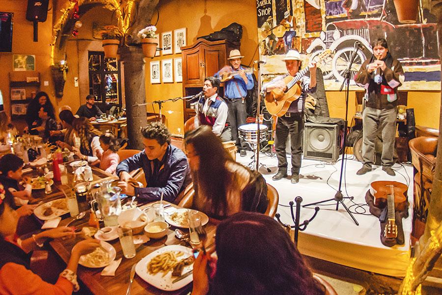 Musica en vivo Restaurante