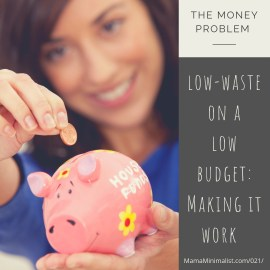 Low-Waste living often has an associated price tag. Here's how to make sustainability work regardless of budget.