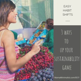 3 habit shifts we can all make to up our eco-friendly efforts.