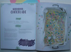 unicorn knutsel met chocola