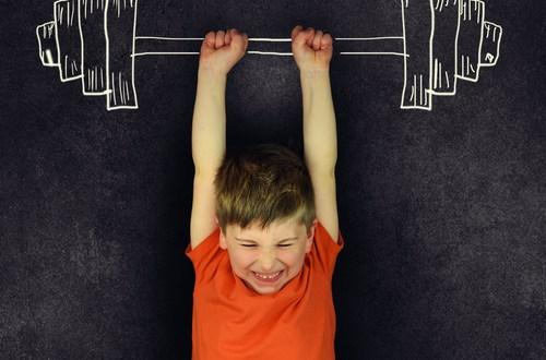 sportschool met kind