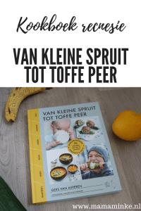 kookboek recensie van kleine spruit tot toffe peer eten dat kinderen wel lusten. Met extra tips, weetjes en variaties. Spelletjes om te doen en uitproberen om te leren. Een compleet boek voor de mama en papa (to be)
