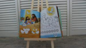verwerking van het verhaal crea kinderbijbel