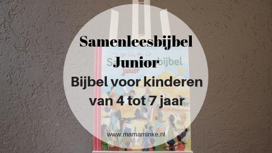 Bekend Recensie: samenleesbijbel Junior voor kinderen van 4 tot 7 jaar @BG78