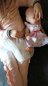 Nieuwe baby born soft touch en party set met accesoires review. Nola met haar pop