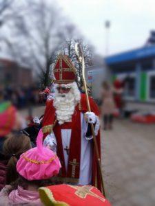 Sinterklaas woensdag op school