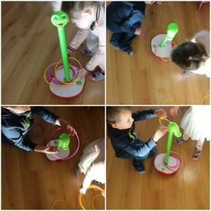 Wobbly worm, het spel voor kleine en grote kinderen samen spelen