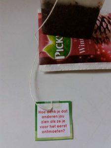 dagboek allemaal ziek thee drinken