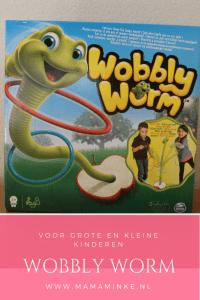 Wobbly worm, het spel voor kleine en grote kinderen