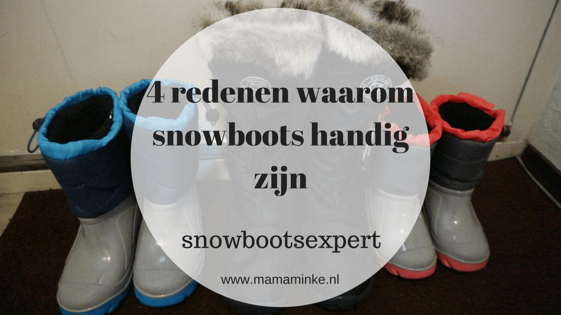 Snowboots; waarom je deze wilt hebben.