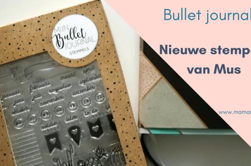 Clear stamps van Mus voor bij je bullet journal. Het maakt bullet journaling nog makkelijker en voor mij leuker. Lees mijn ervaring in deze blog! Met een tip voor de extra lange smalle stempels. Uitgelichte afbeelding