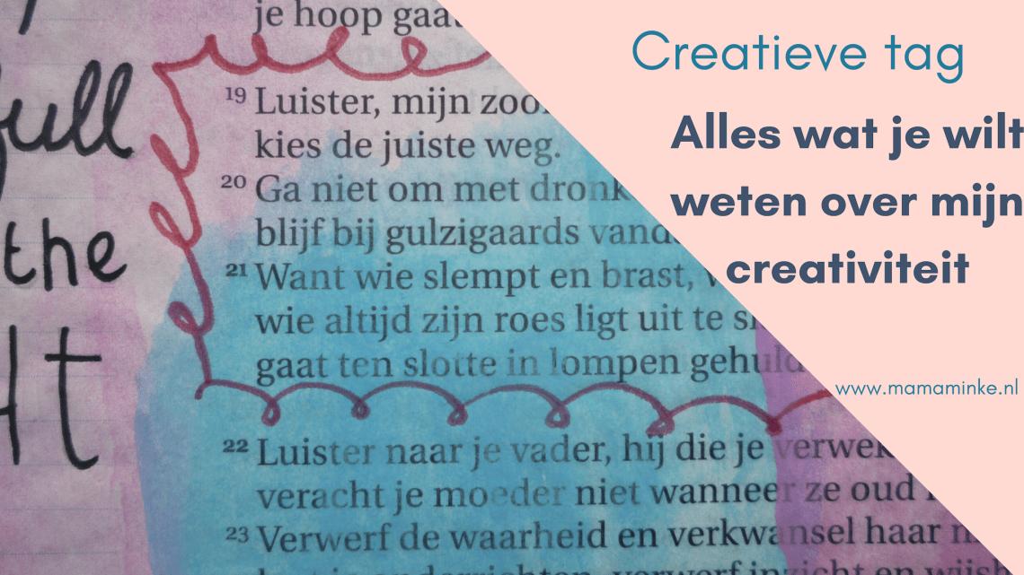 Creatieve tag; alles wat je wilt weten over mijn creativiteit. uitgelichte afbeelding