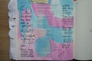 Creatieve tag; alles wat je wilt weten over mijn creativiteit. bijbel journaling