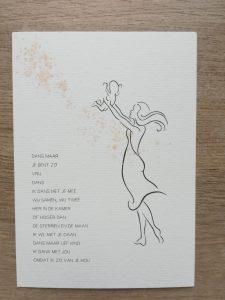 Kaart stralend-online moeder/kind