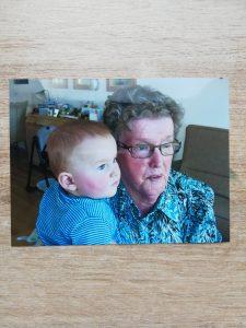 Oma met Luca