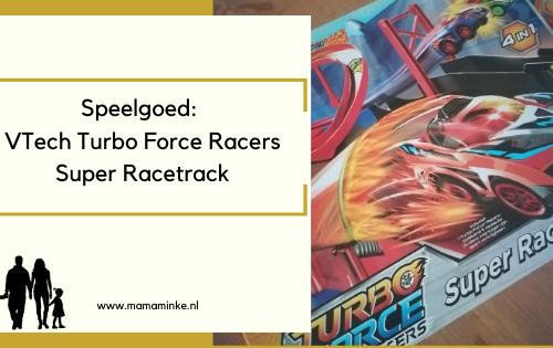 Turbo force racers VTech uitgelichte afbeelding