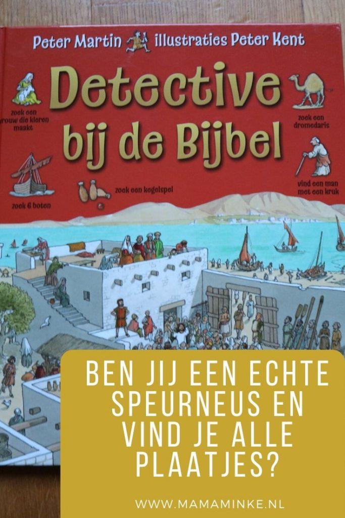 Detective bij de Bijbel pinterest