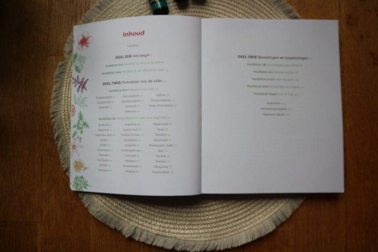 praktisch handboek etherische oliën inhoudsopgave