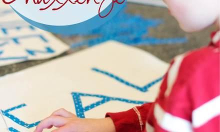 Stick Letter Challenge