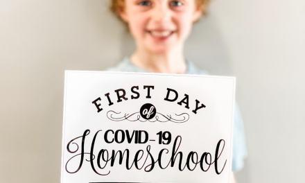 First Day of Coronavirus Homeschool