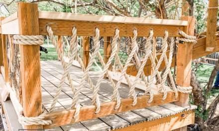 Coastal Rope Railing