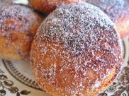 cocoa and cinnamon donut