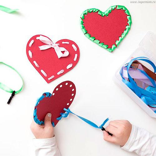 बच्चों के लिए वेलेंटाइन डे के लिए शिल्प