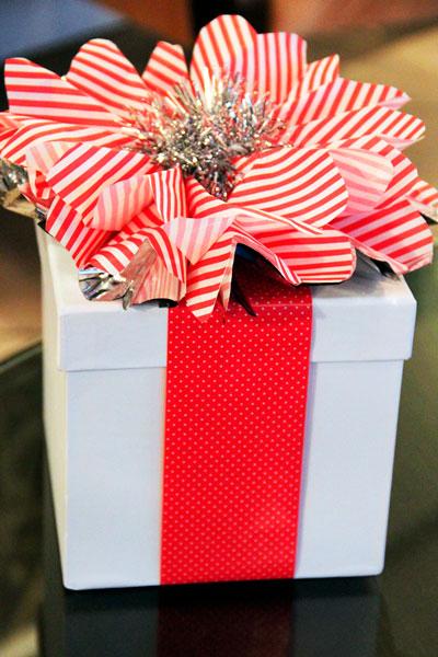 Smukt pakk gaver til det nye år 3