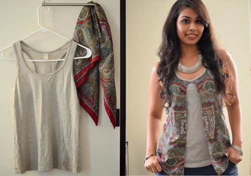 古い服から新しい服から作る方法3