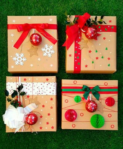 Smukt pakk gaver til det nye år 13