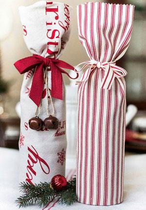 Smuk gaveemballage med egne hænder til det nye år 3