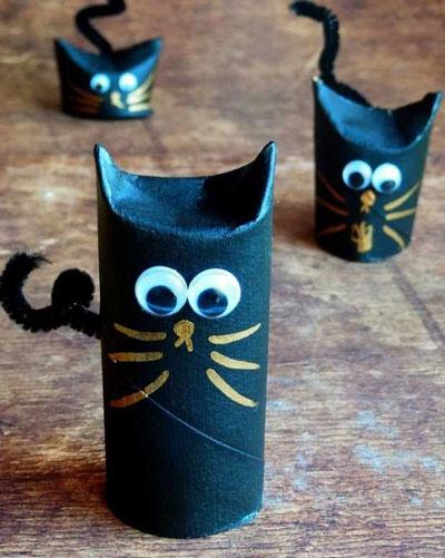 صنایع دستی ساده خود را برای یک کودک از آستین 4