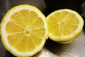 Rituel santé, l'eau citronnée