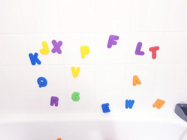 Lettres de bain - MUNCHKIN