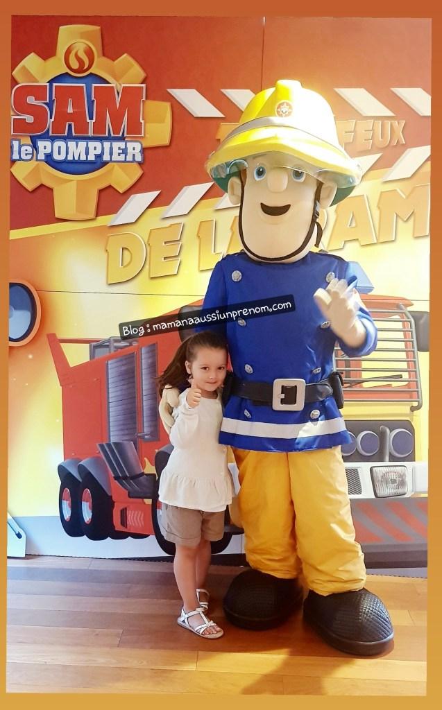 """Sam le pompier """"Sous les feux de la Rampe"""""""