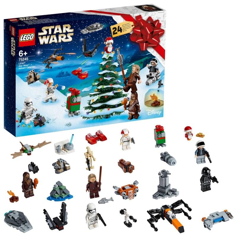 Calendrier de l'avent LEGO STAR WARS 2019