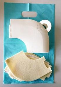 サンコー 折りたたみ式補助ベンザのカバーと袋