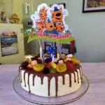Как приготовить торт на детский день рождения своими руками
