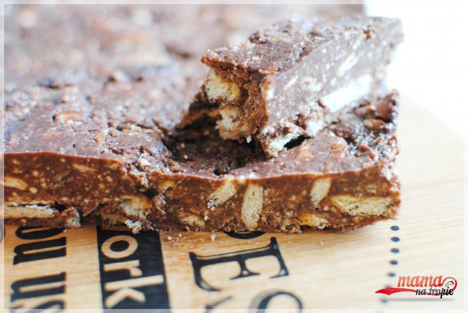 domowy baton czekoladowy