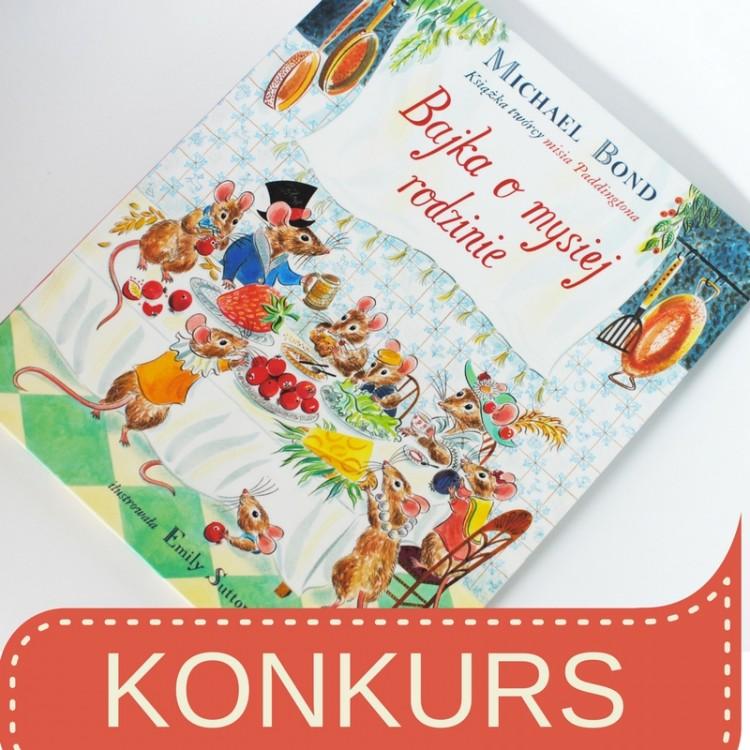 Konkurs Bajka o mysiej rodzinie, książka dla dzieci