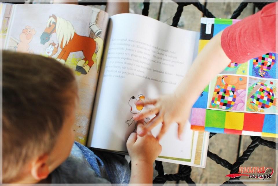 Reksio kontra Elmer, bajka dla dzieci