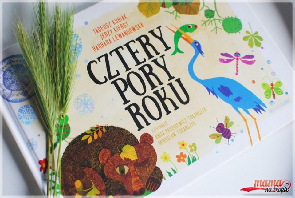 cztery pory roku, nasza księgarnia, wiersze dla dzieci
