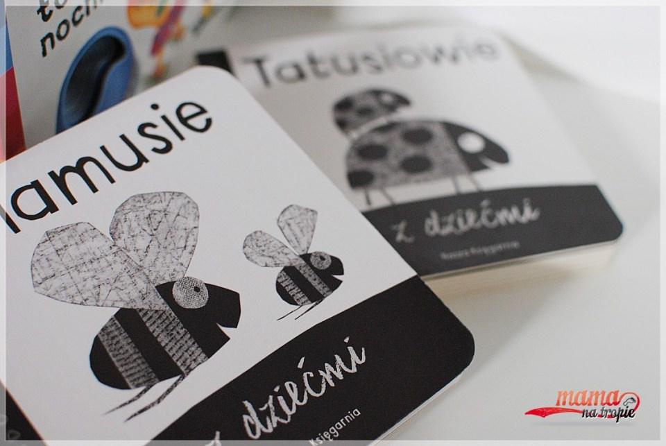 książki czarno-białe, nasza księgarnia, książki kontrastowe,