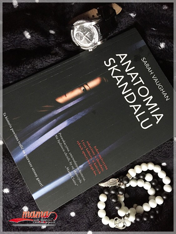 anatomia skandalu, burda książki, książka dla dorosłych
