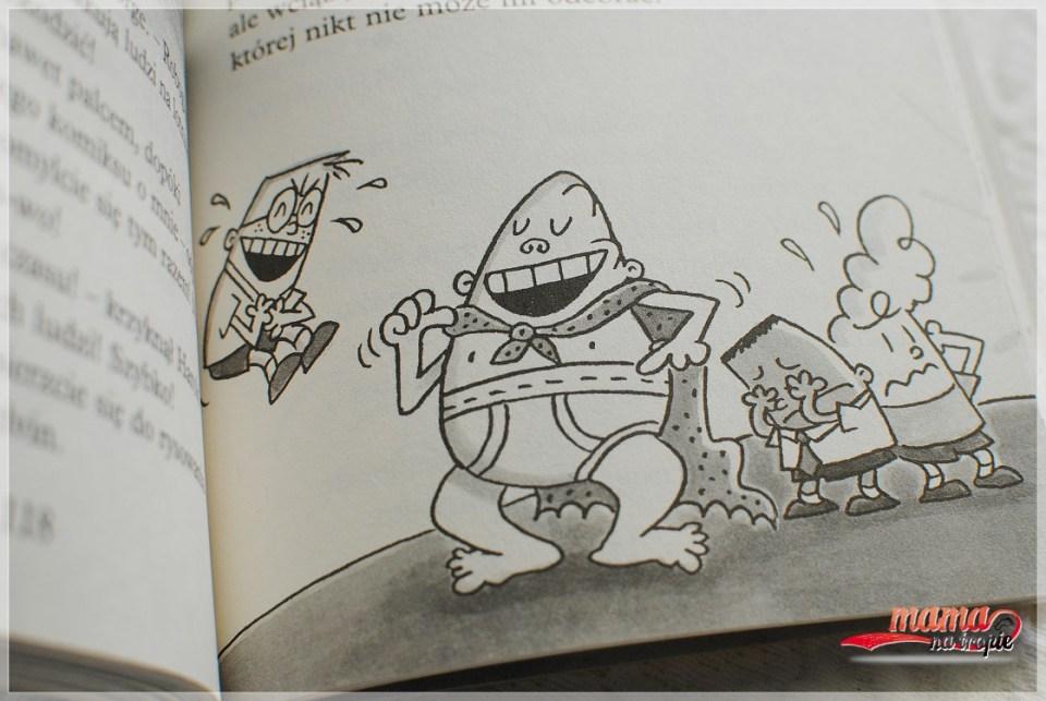 kapitan majtas, komiks dla dzieci, książka dla dzieci, wydawnictwo jaguar
